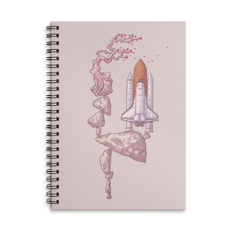 Zen of gravity 02 Accessories Notebook by makapa's Artist Shop