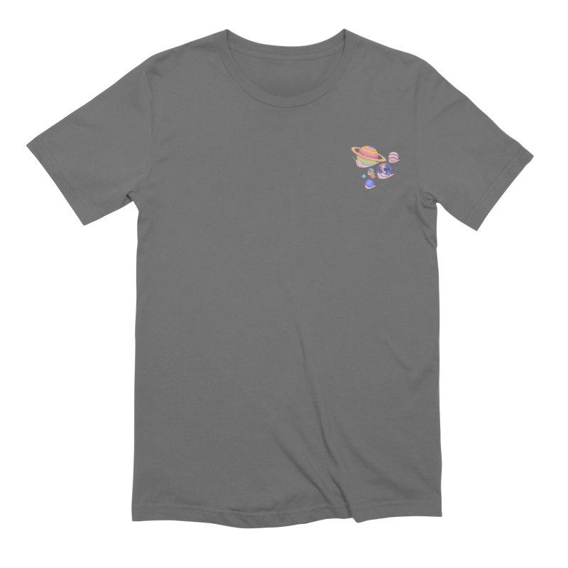 Universe walk (mini) Men's T-Shirt by makapa's Artist Shop