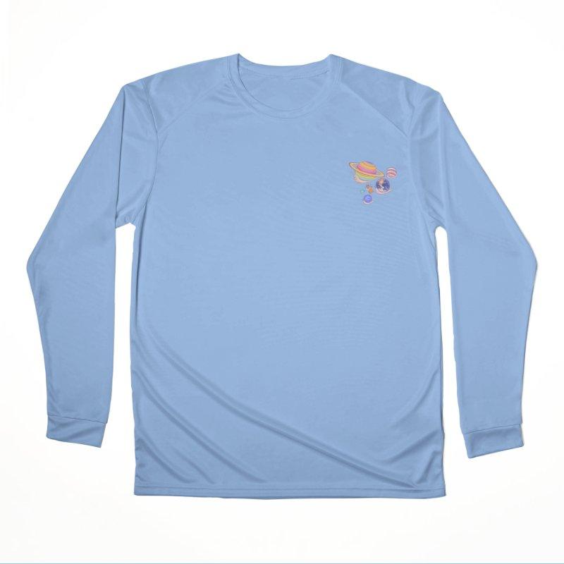 Universe walk (mini) Men's Longsleeve T-Shirt by makapa's Artist Shop