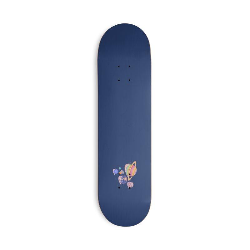 Universe walk (mini) Accessories Skateboard by makapa's Artist Shop