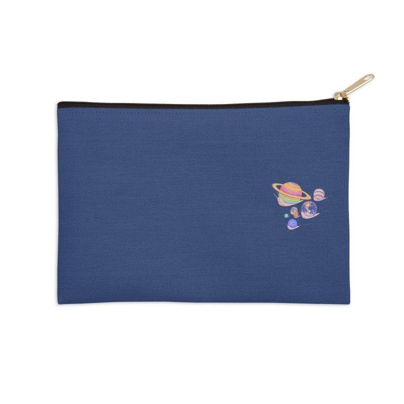 Universe walk (mini) Accessories Zip Pouch by makapa's Artist Shop