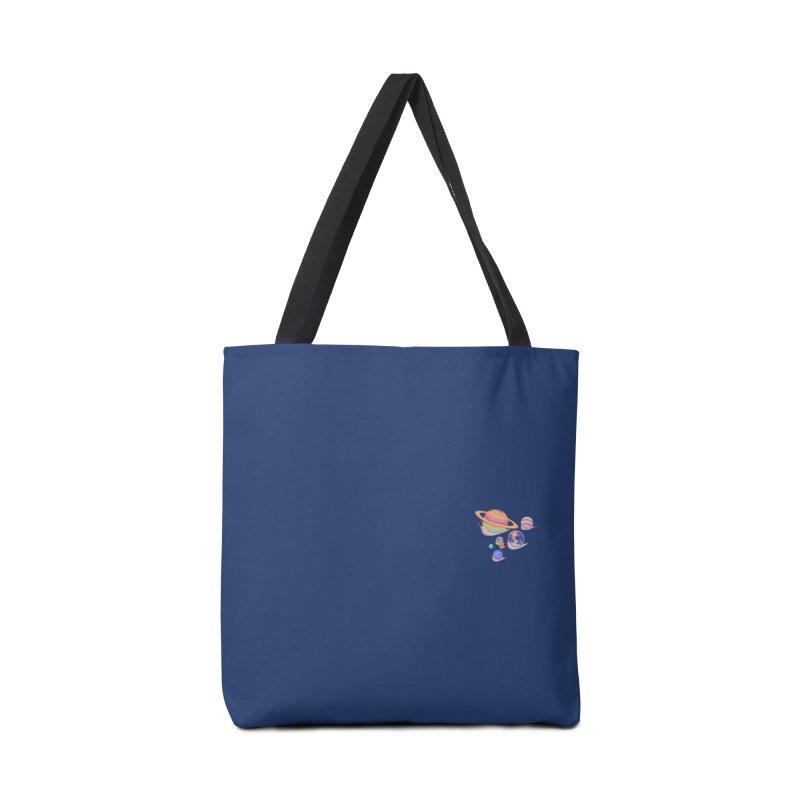 Universe walk (mini) Accessories Bag by makapa's Artist Shop