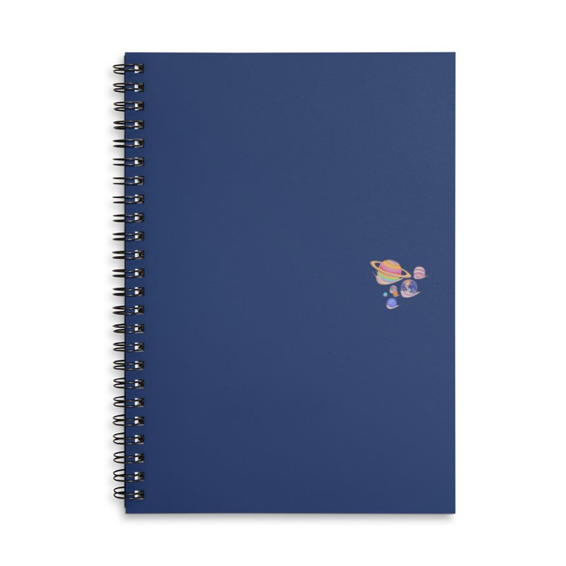 Universe walk (mini) Accessories Notebook by makapa's Artist Shop
