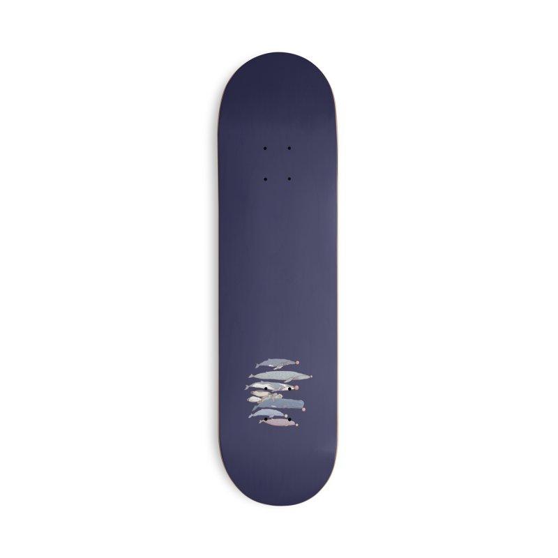 Sleepwalking sea (mini) Accessories Skateboard by makapa's Artist Shop