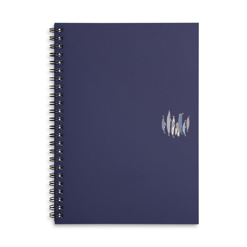 Sleepwalking sea (mini) Accessories Notebook by makapa's Artist Shop