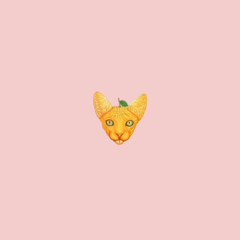 Orange cat (mini) Accessories Notebook by makapa's Artist Shop