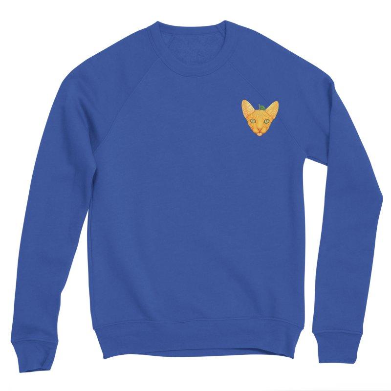 Orange cat (mini) Women's Sweatshirt by makapa's Artist Shop