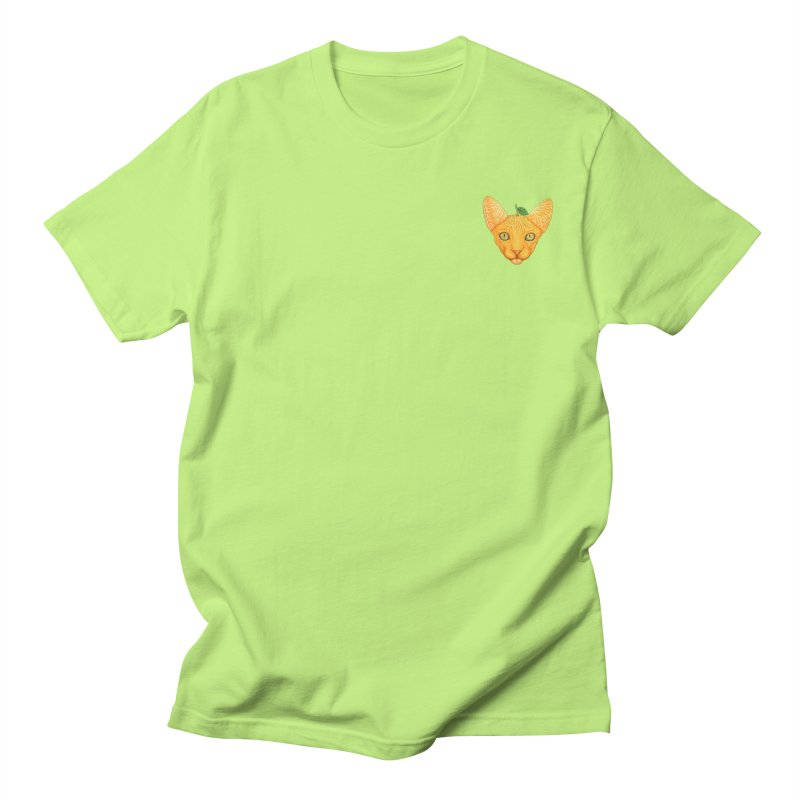 Orange cat (mini) Men's T-Shirt by makapa's Artist Shop