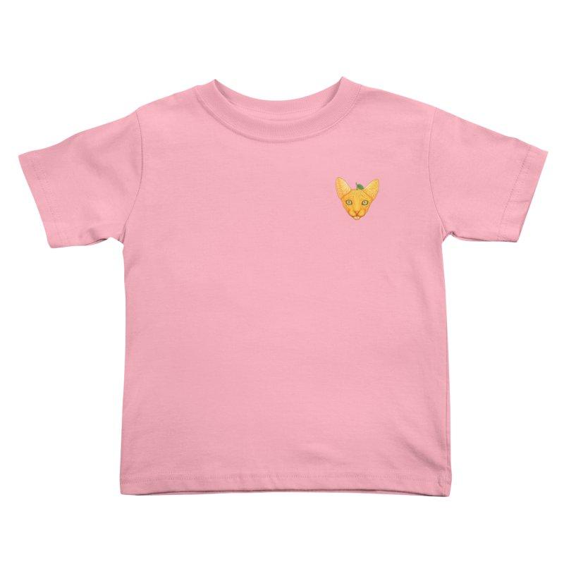 Orange cat (mini) Kids Toddler T-Shirt by makapa's Artist Shop