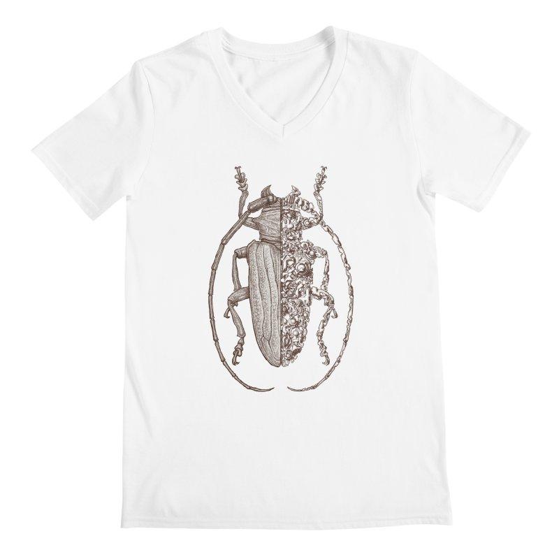 Sternotomis sci-fly Men's V-Neck by makapa's Artist Shop