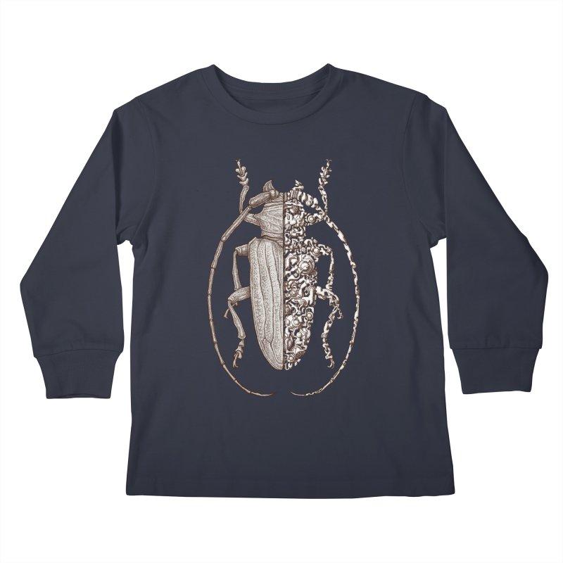 Sternotomis sci-fly Kids Longsleeve T-Shirt by makapa's Artist Shop