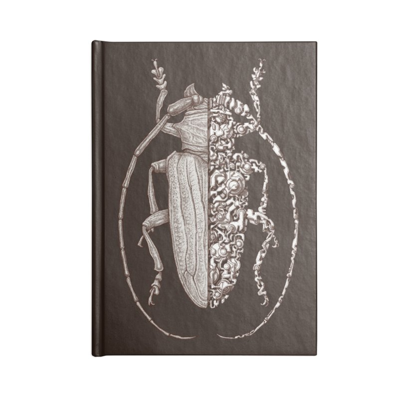 Sternotomis sci-fly Accessories Notebook by makapa's Artist Shop