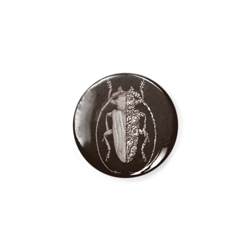Sternotomis sci-fly Accessories Button by makapa's Artist Shop