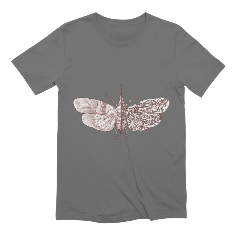 Pyrops candelaria sci-fly Men's T-Shirt by makapa's Artist Shop