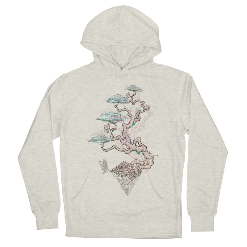 aesthetic future Men's French Terry Pullover Hoody by makapa's Artist Shop