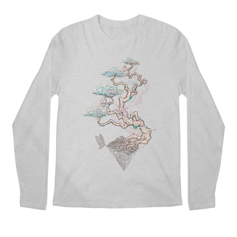 aesthetic future Men's Regular Longsleeve T-Shirt by makapa's Artist Shop