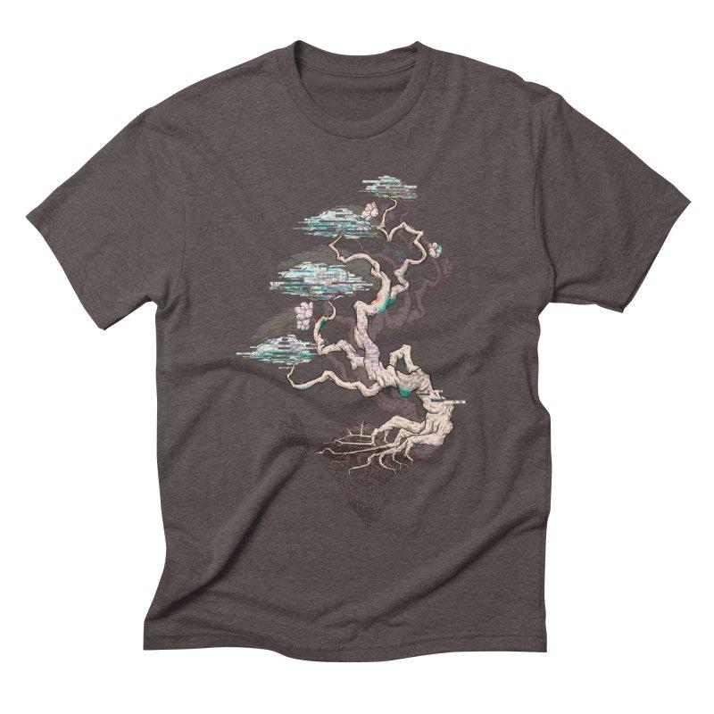 aesthetic future Men's Triblend T-shirt by makapa's Artist Shop
