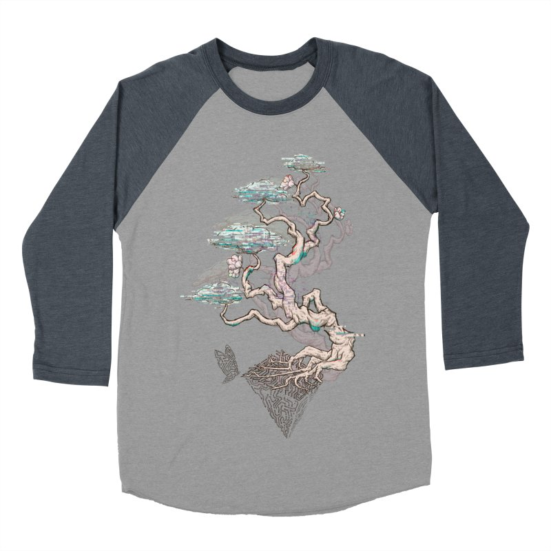 aesthetic future Men's Baseball Triblend T-Shirt by makapa's Artist Shop