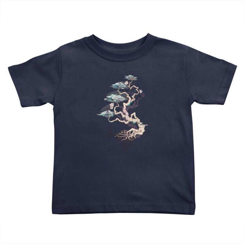 aesthetic future Kids Toddler T-Shirt by makapa's Artist Shop