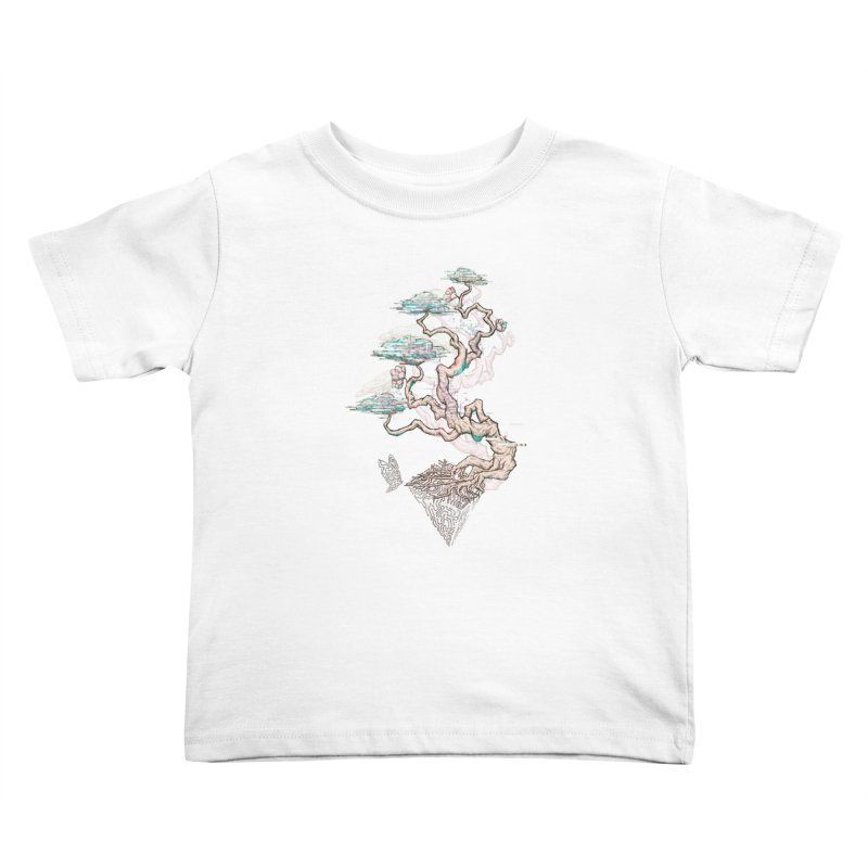 aesthetic future Kids Toddler T-Shirt by makapa's Artist Shop