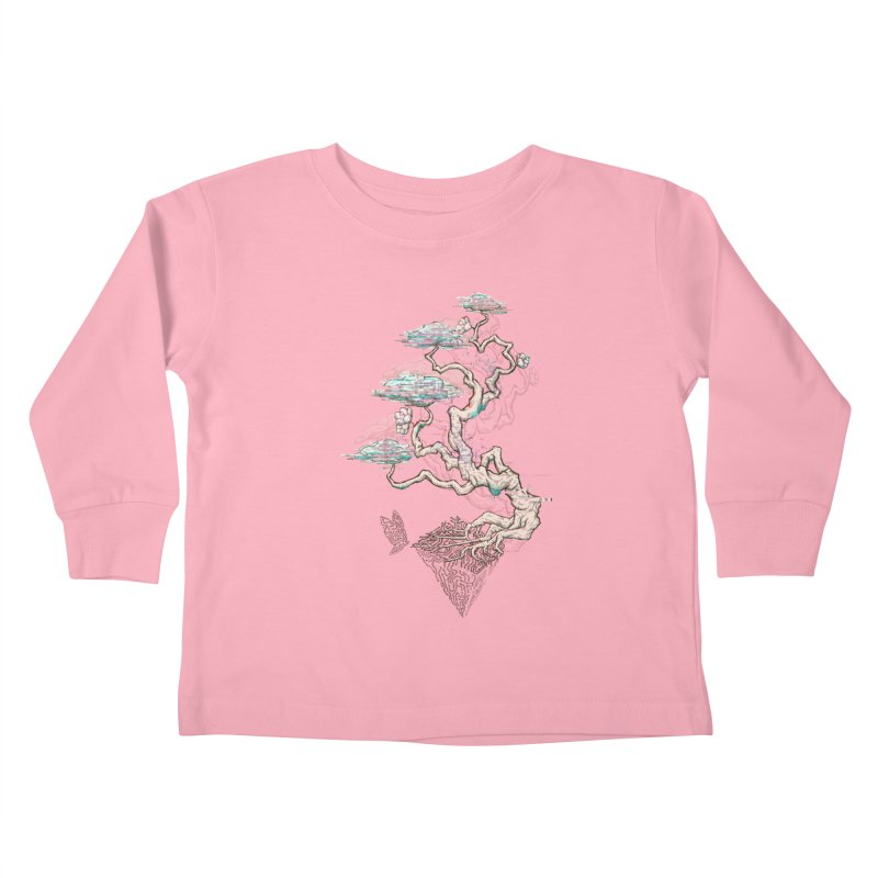 aesthetic future Kids Toddler Longsleeve T-Shirt by makapa's Artist Shop