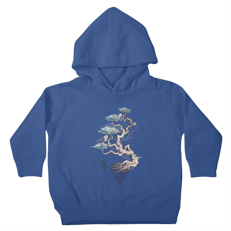 aesthetic future Kids Toddler Pullover Hoody by makapa's Artist Shop