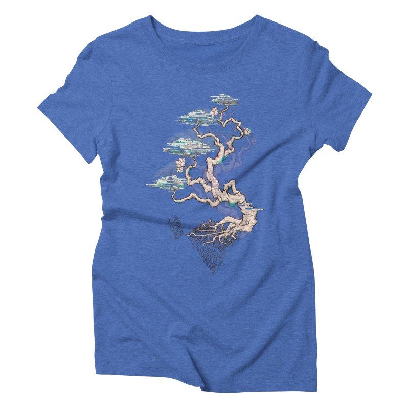 aesthetic future Women's Triblend T-shirt by makapa's Artist Shop
