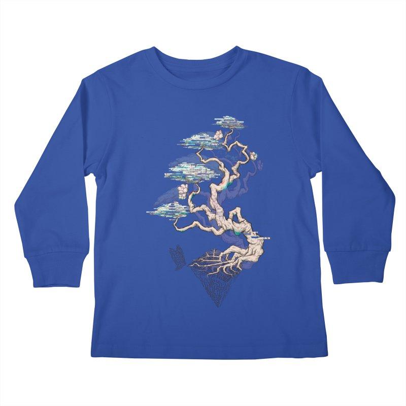 aesthetic future Kids Longsleeve T-Shirt by makapa's Artist Shop