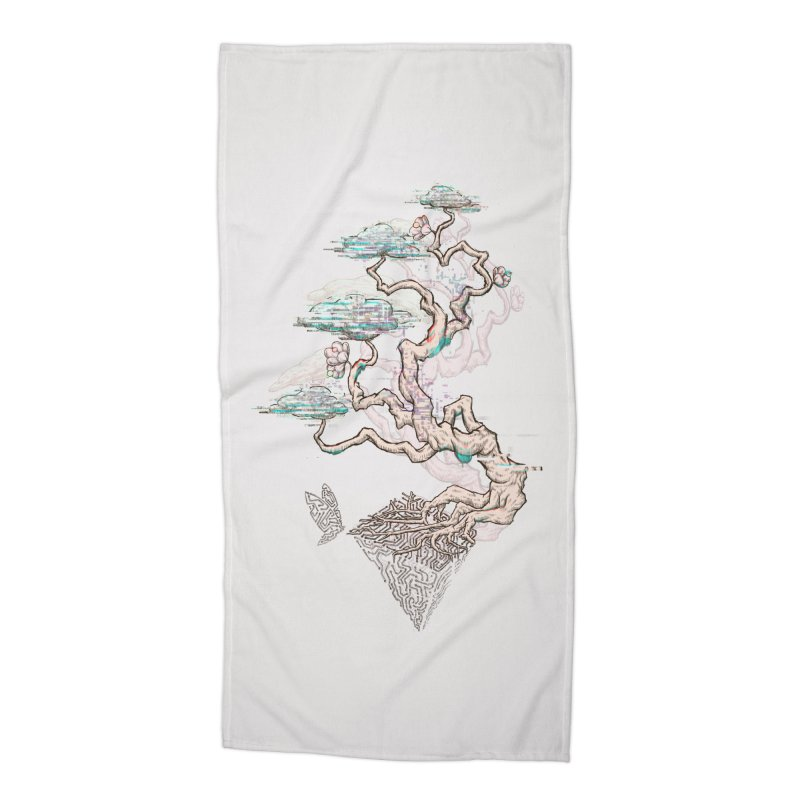 aesthetic future Accessories Beach Towel by makapa's Artist Shop