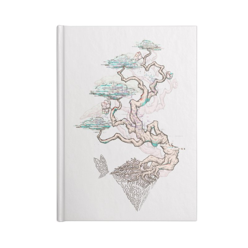 aesthetic future Accessories Notebook by makapa's Artist Shop