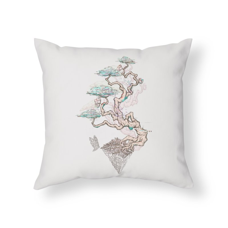 aesthetic future Home Throw Pillow by makapa's Artist Shop