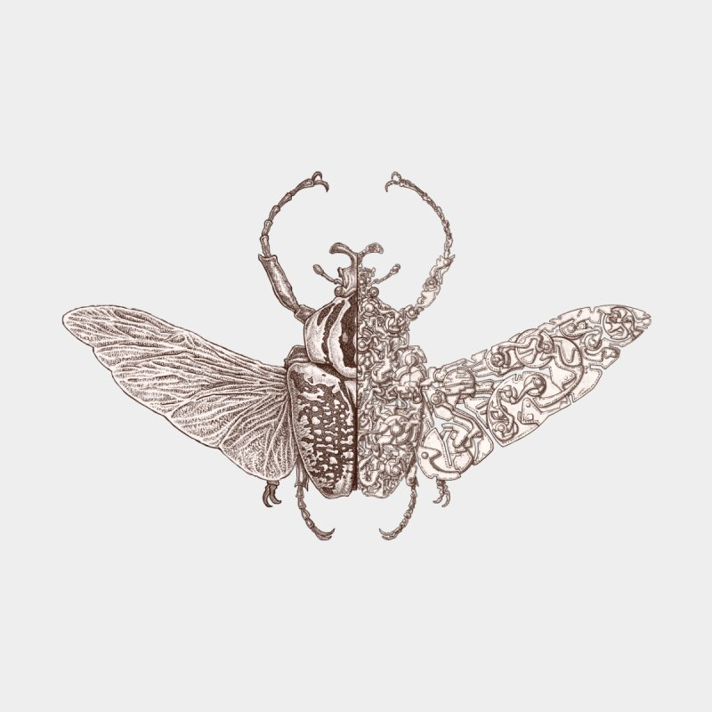 Pure bug sci-fly no.8 Accessories Greeting Card by makapa's Artist Shop