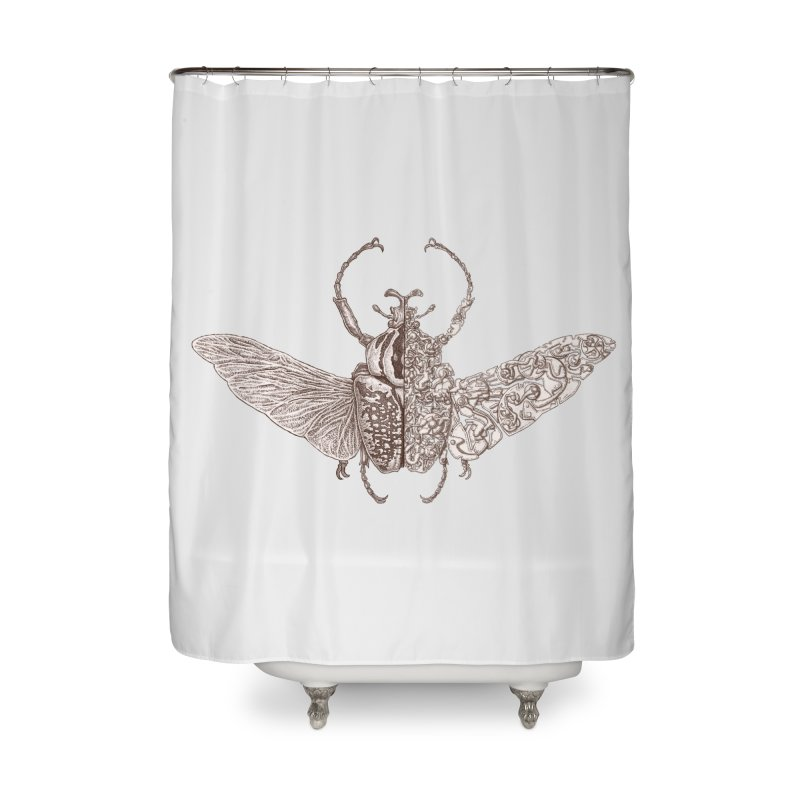 Pure bug sci-fly no.8 Home Shower Curtain by makapa's Artist Shop