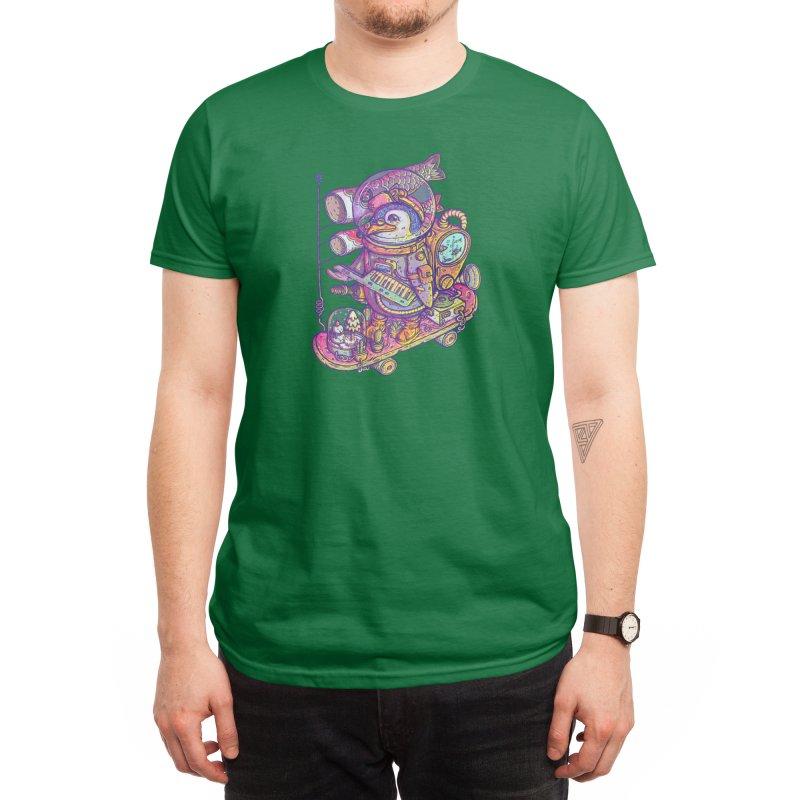 Penguin space suits 2021 Men's T-Shirt by makapa's Artist Shop