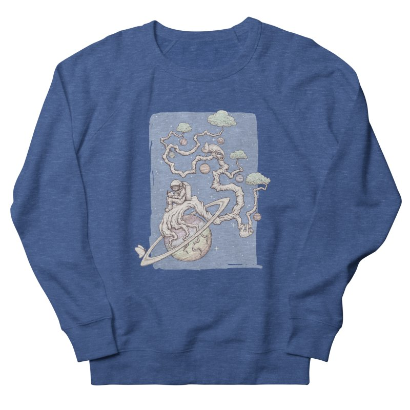 zen on space Men's Sweatshirt by makapa's Artist Shop
