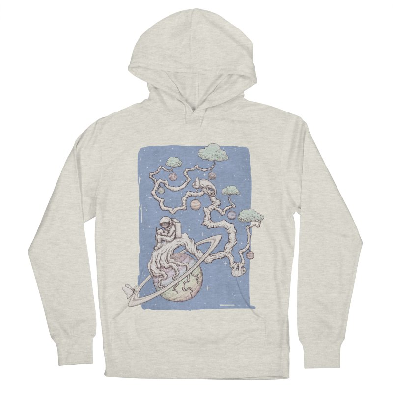 zen on space Women's Pullover Hoody by makapa's Artist Shop