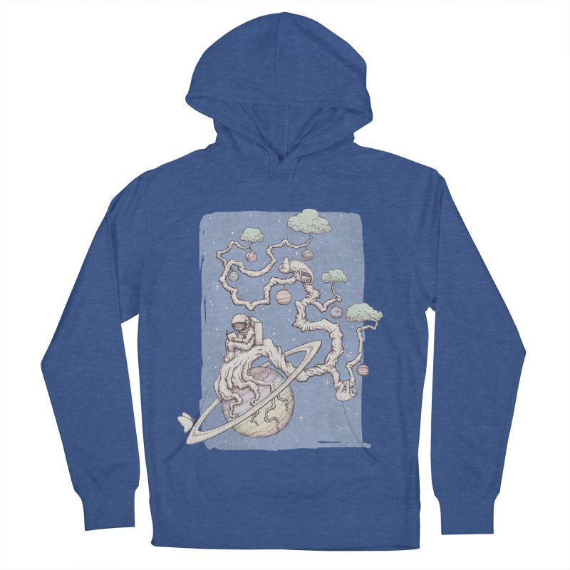 zen on space Men's Pullover Hoody by makapa's Artist Shop