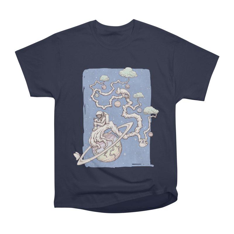 zen on space Men's Classic T-Shirt by makapa's Artist Shop
