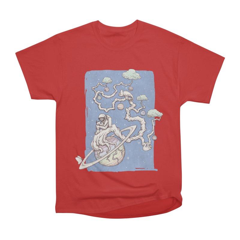 zen on space Women's Classic Unisex T-Shirt by makapa's Artist Shop