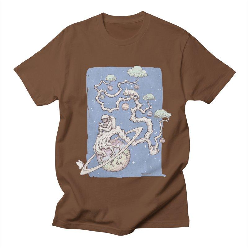 zen on space Women's Unisex T-Shirt by makapa's Artist Shop
