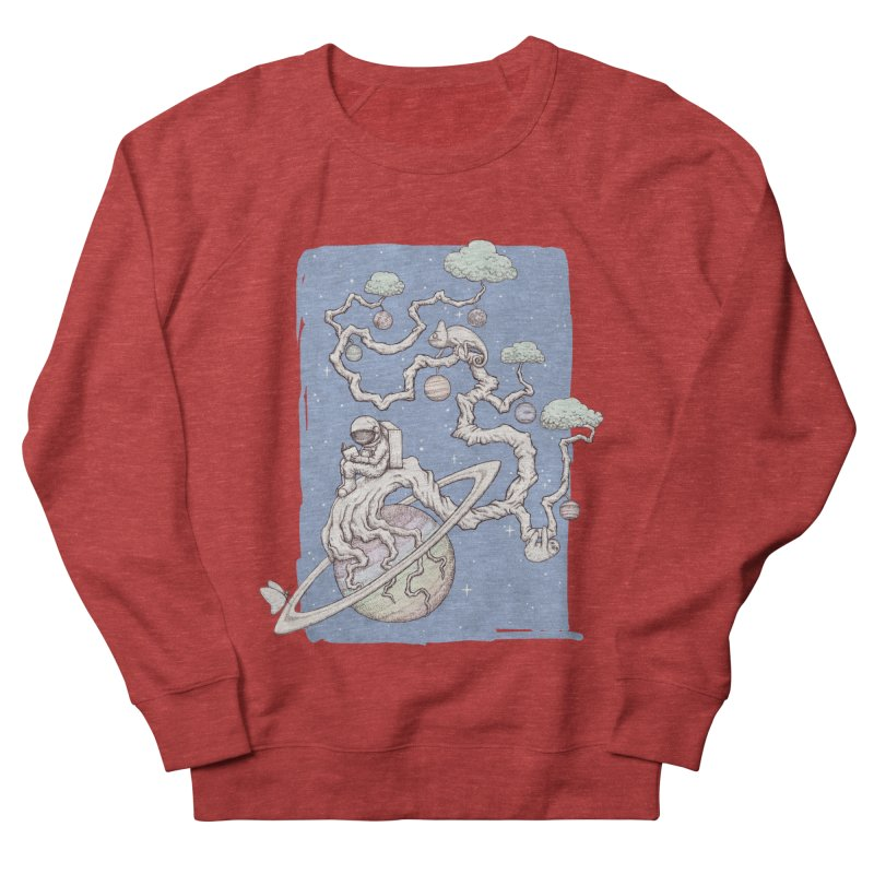 zen on space Women's Sweatshirt by makapa's Artist Shop