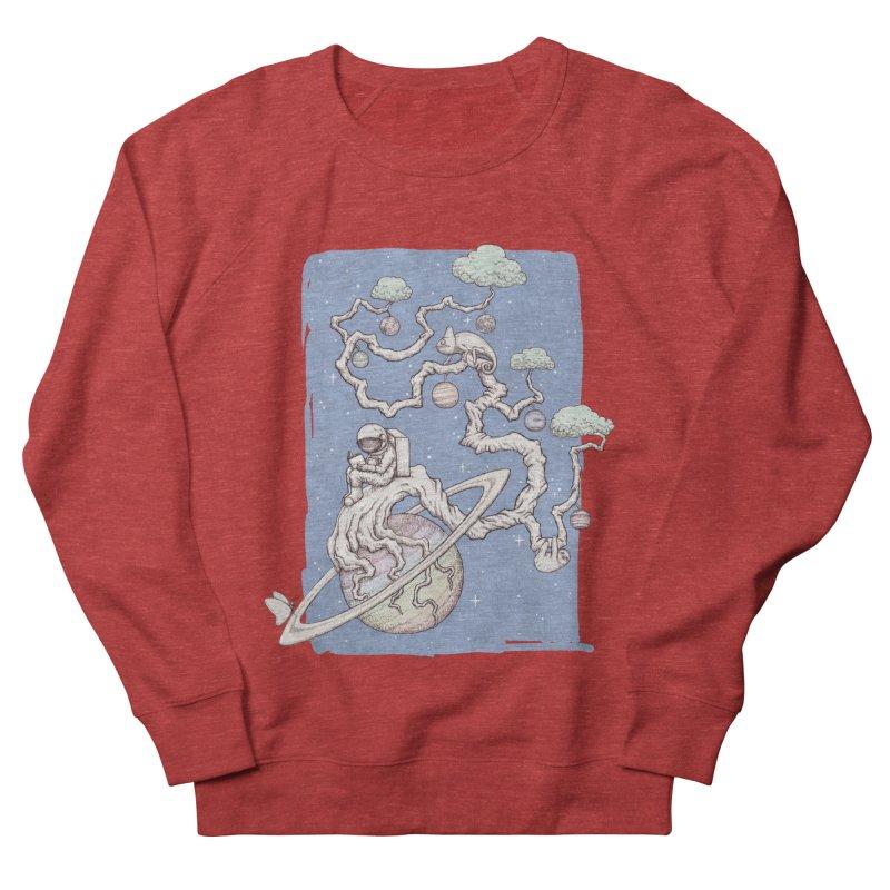 zen on space Women's French Terry Sweatshirt by makapa's Artist Shop