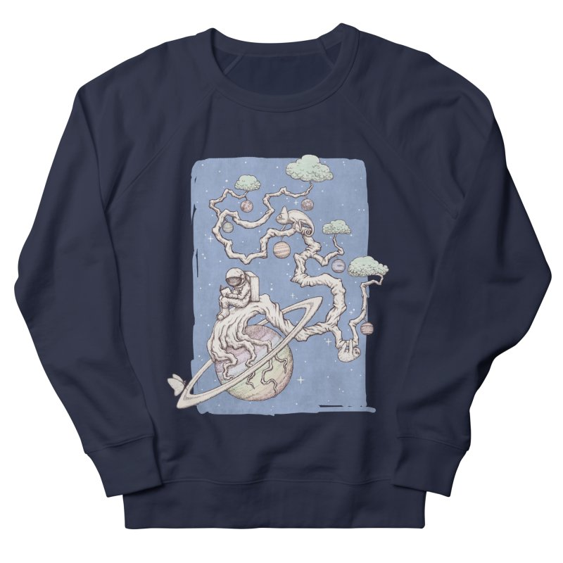zen on space Women's Sweatshirt by makapa's Artist Shop