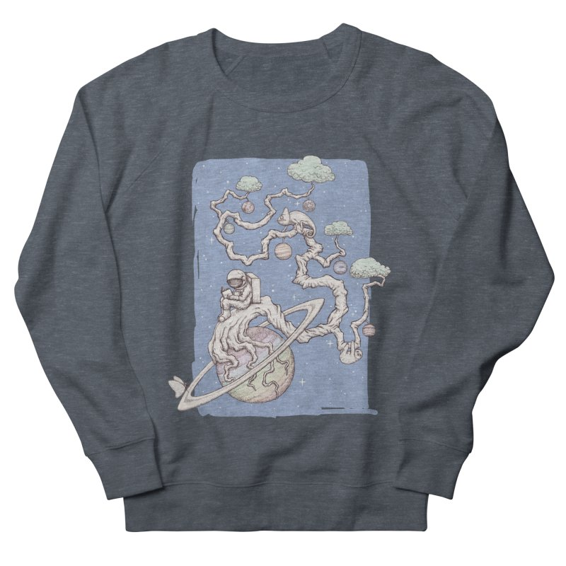 zen on space Men's Sweatshirt by makapa's Artist Shop