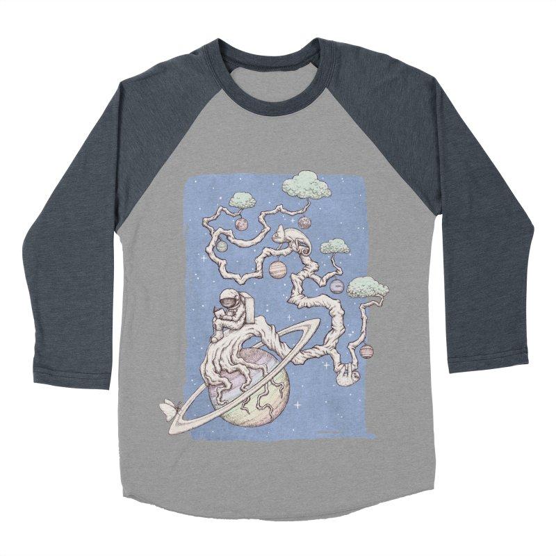 zen on space Women's Baseball Triblend T-Shirt by makapa's Artist Shop