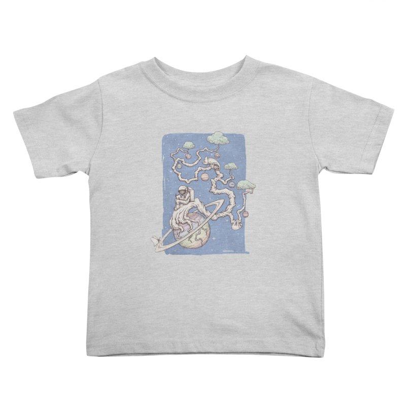 zen on space Kids Toddler T-Shirt by makapa's Artist Shop