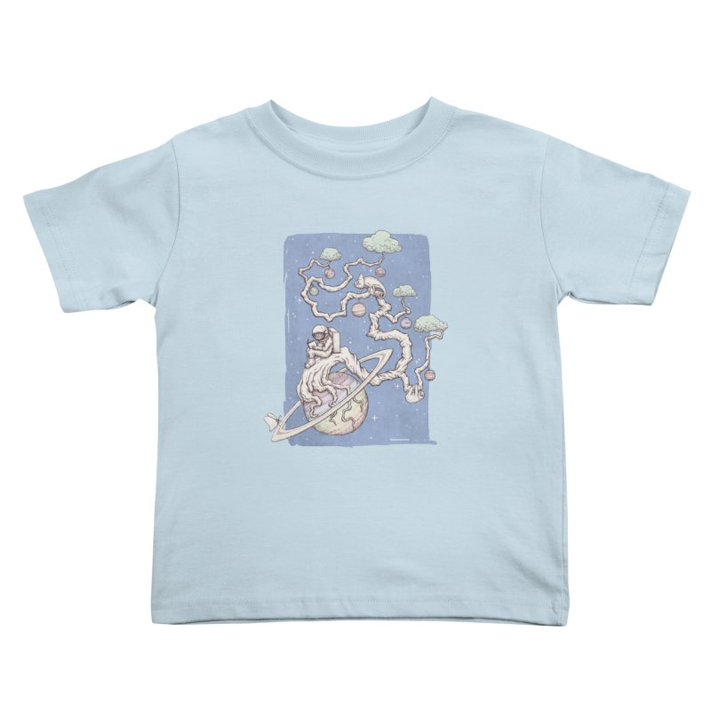zen on space Kids Toddler T-Shirt by makapa's Artist Shop