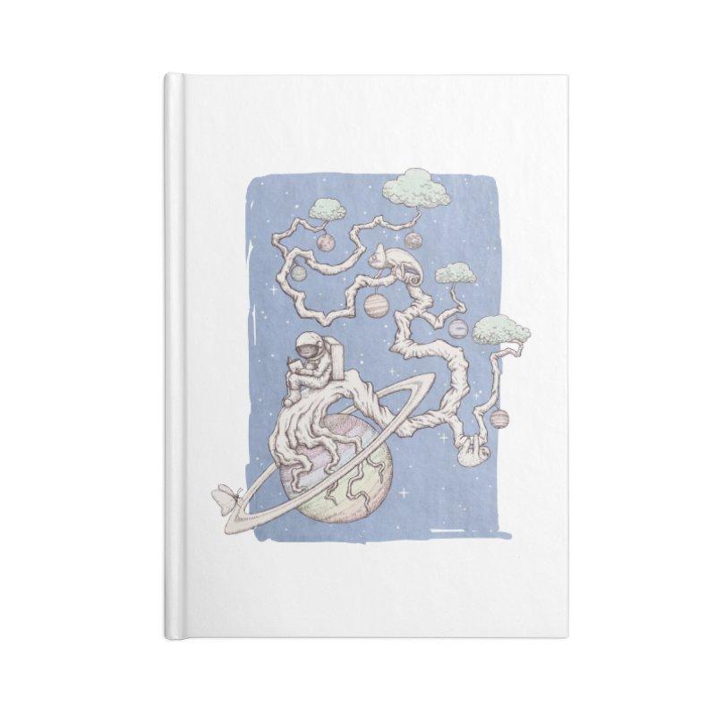 zen on space Accessories Notebook by makapa's Artist Shop