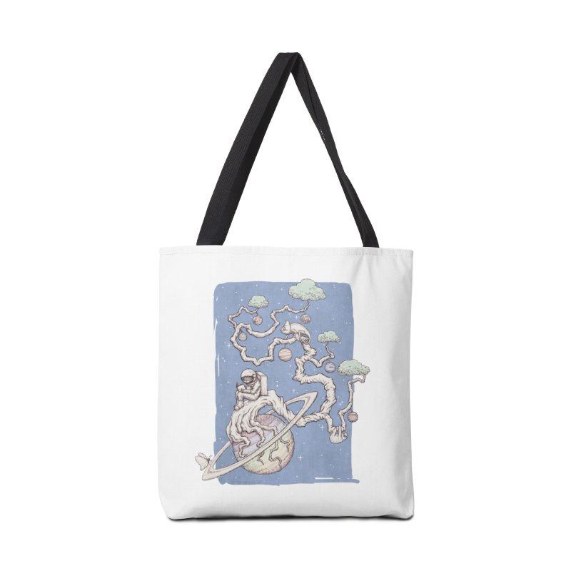 zen on space Accessories Bag by makapa's Artist Shop