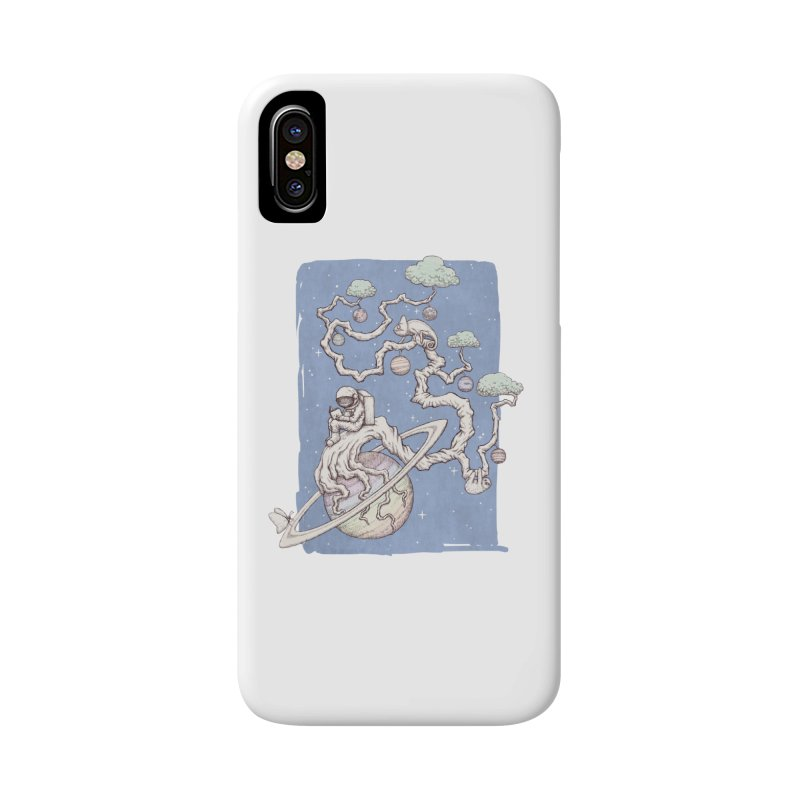 zen on space Accessories Phone Case by makapa's Artist Shop